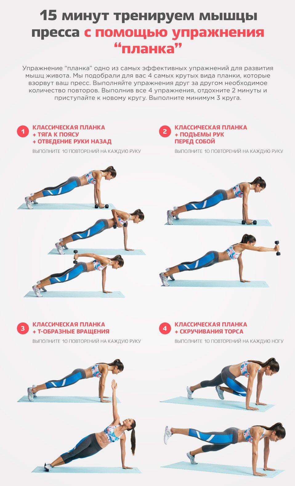 Основы упражнений для похудения