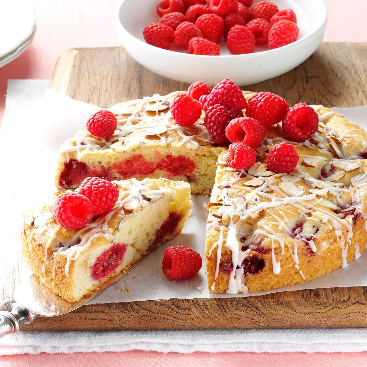 Raspberry Sour Cream Coffee Cake Recipe Cake recipes