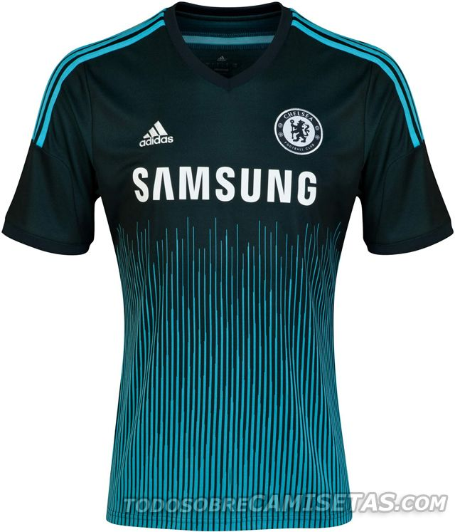 Chelsea tercera equipación 2014 2015  0769bfc64c44e