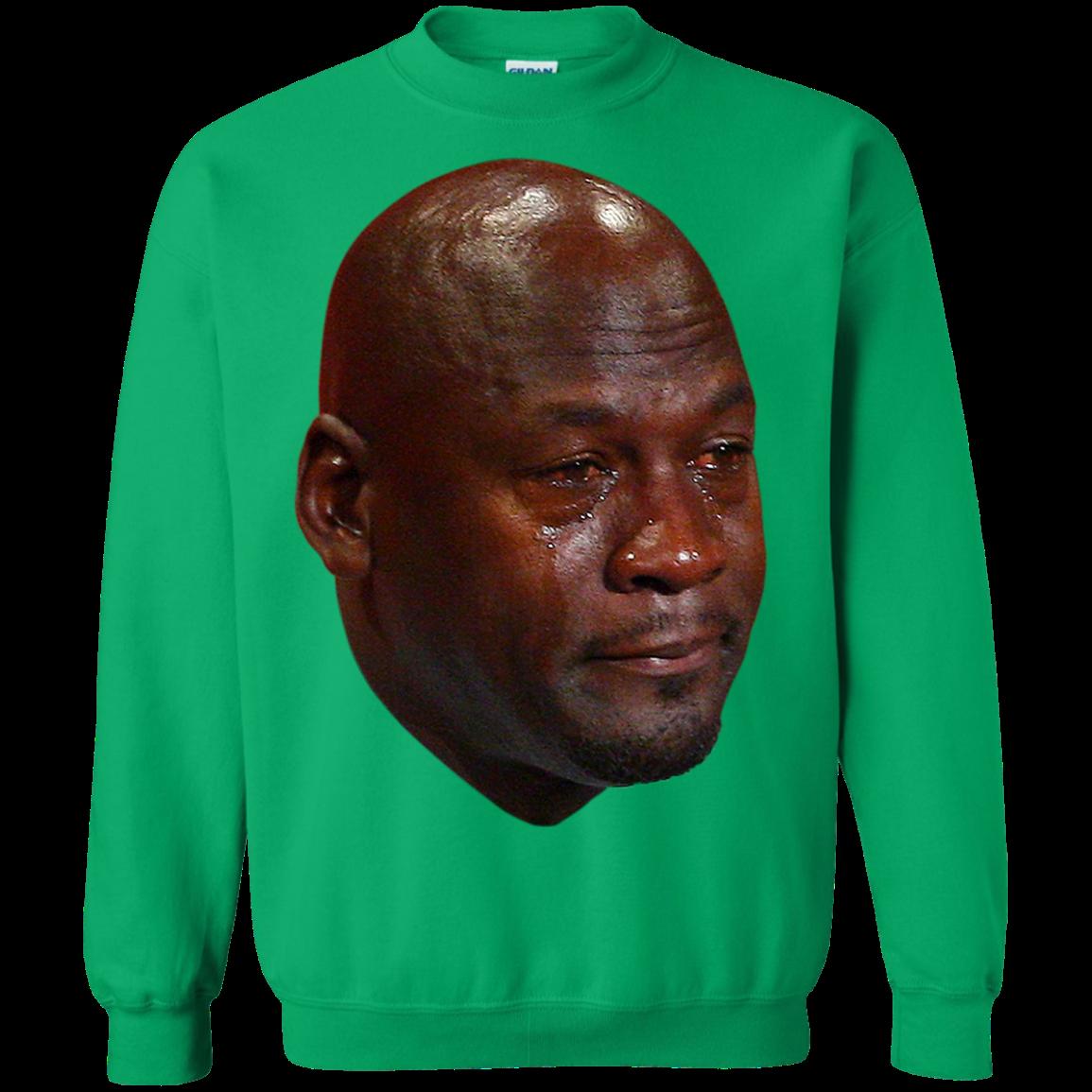 Crying Jordan Sweatshirt Crying meme, Crying meme face