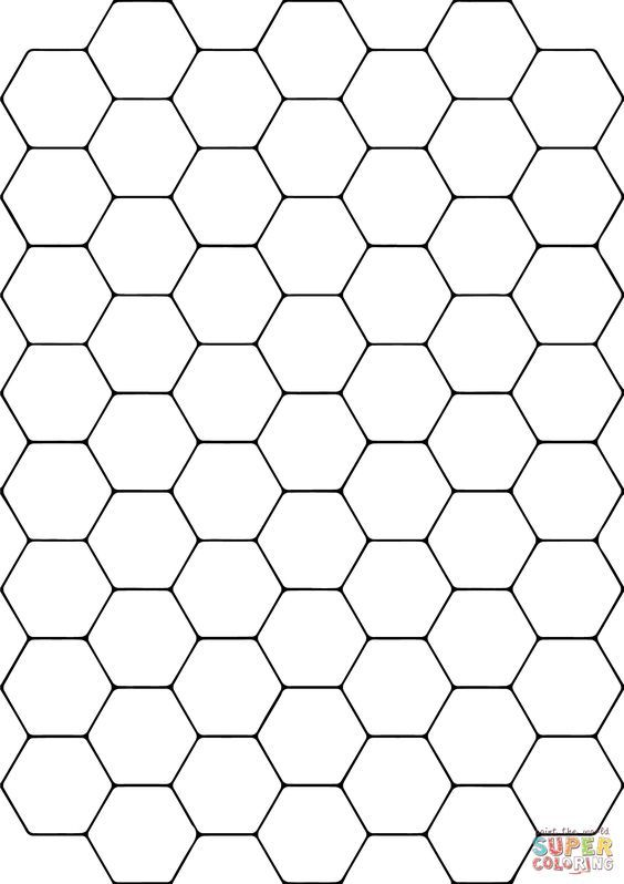 Related Image Free Printable Coloring Hexagon Pattern Coloring Pages