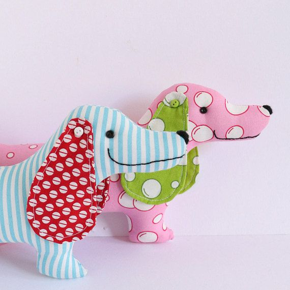 Best in show dog sewing pattern,sausage dog pattern, plush dog ...