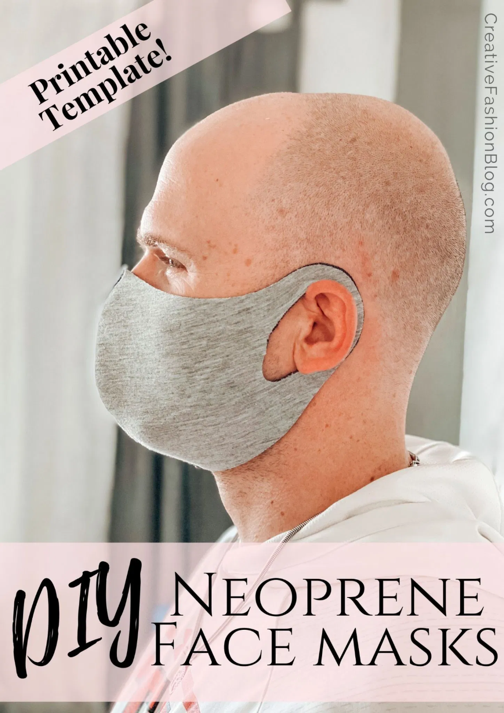 Photo of How To Make DIY Mask Without Elastic . Washable & Reusable Fabric Dust Mask – Creative Fashion Blog
