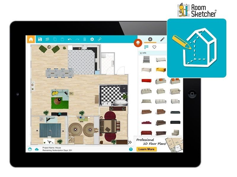 Home design app for android tablet