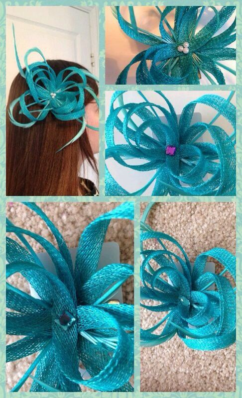 Fascinator with feather detail by ClipsandCrowns on Etsy, £8.00