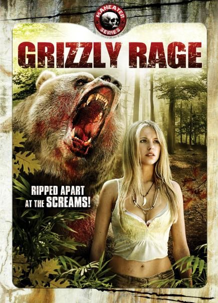 Grizzly Rage (2007) Dual Audio Hindi 480p DVDRip x264 -400MB