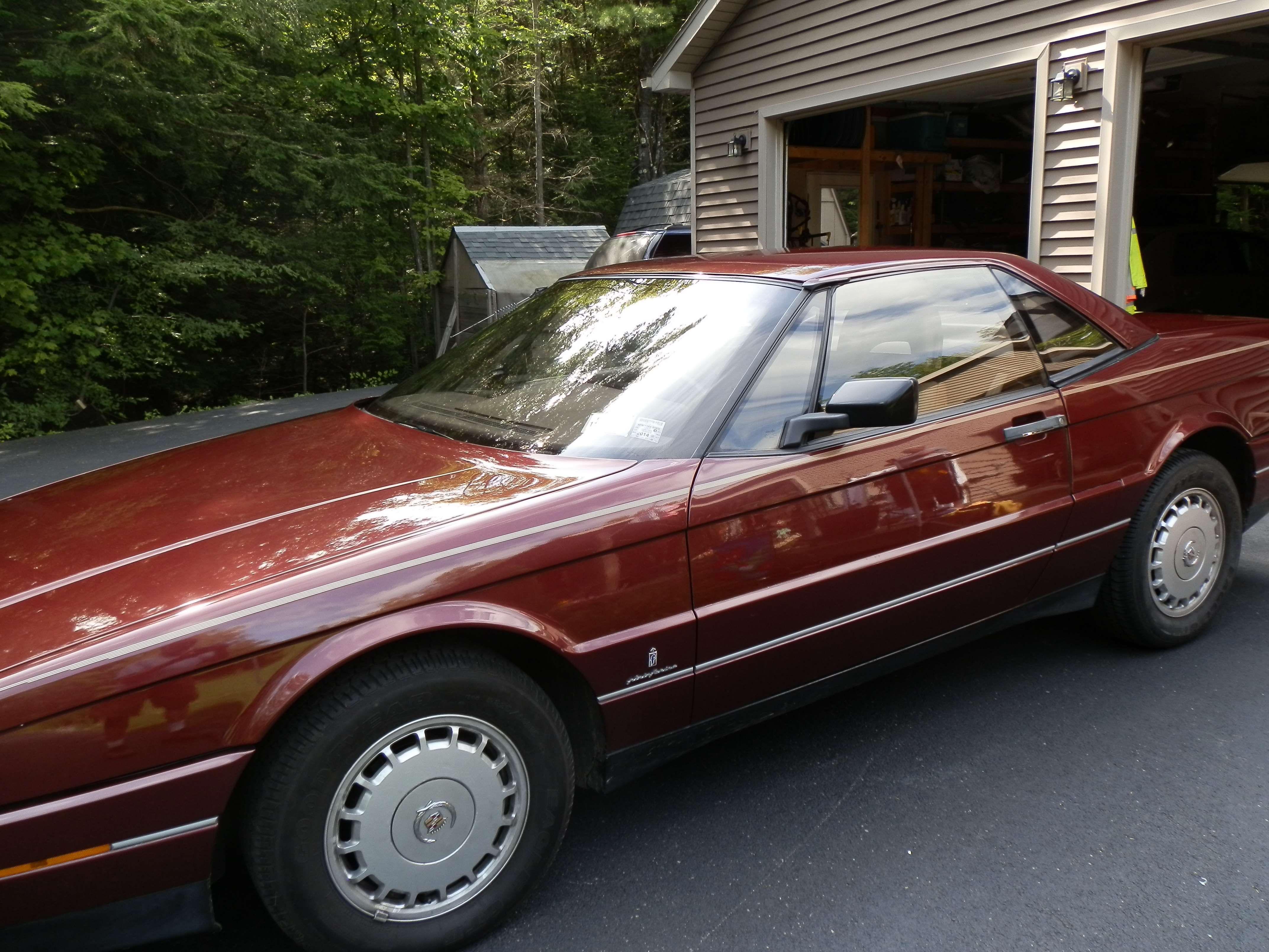 Pin On 1987 Cadillac Allante