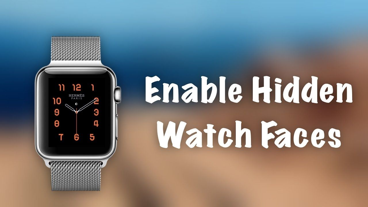 How to Use HIDDEN Watch Faces on Apple Watch Unlock