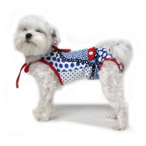 Patchwork Romper Dog Swimsuit Pet Clothes Dog Swimsuit Dog Clothes