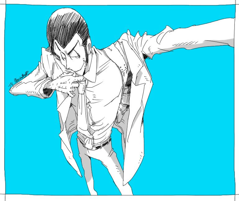 Lupin III. by mh-hexagon