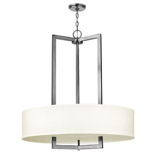 Hinkley lighting 3206 gu24 3 light title 24 fluorescent large foyer pendant from the hampton collection gold title 24 foyers and lighting