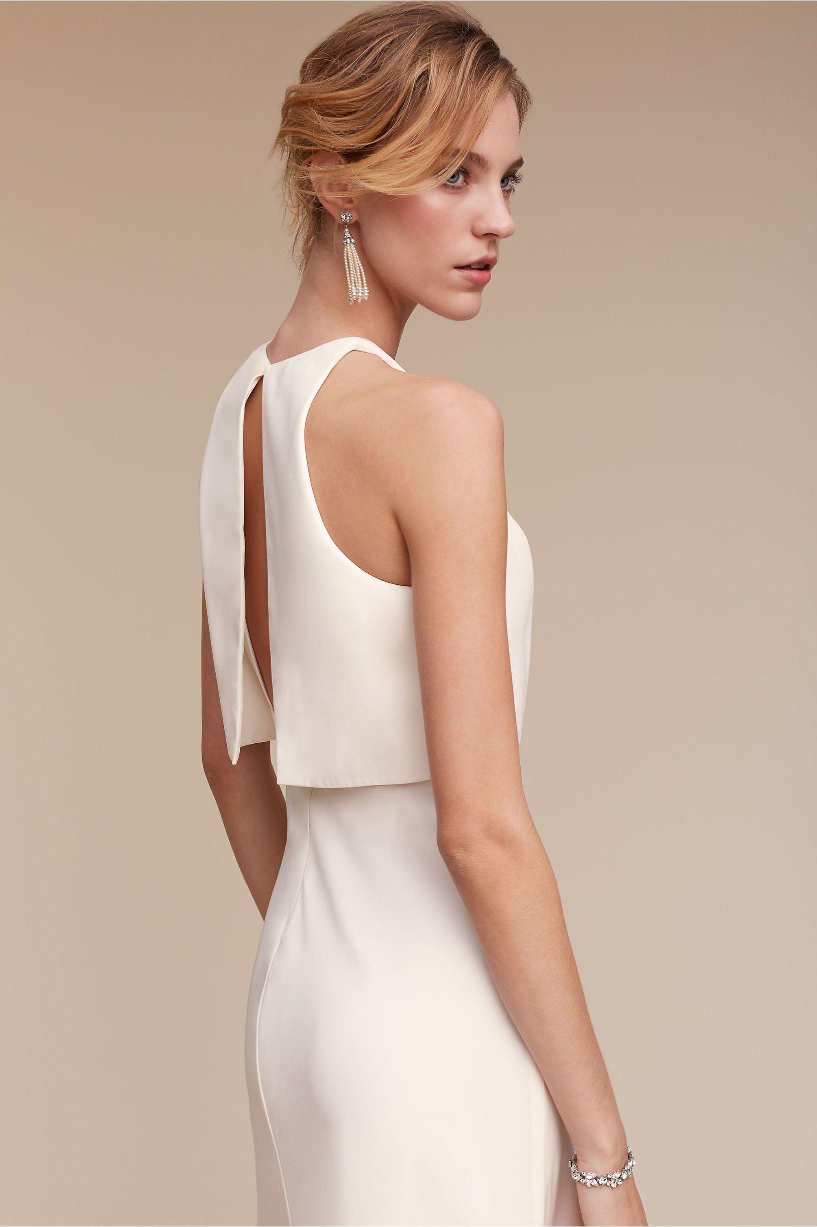 Iva Crepe Maxi | Crepes, Wedding dress and Rehearsal dress