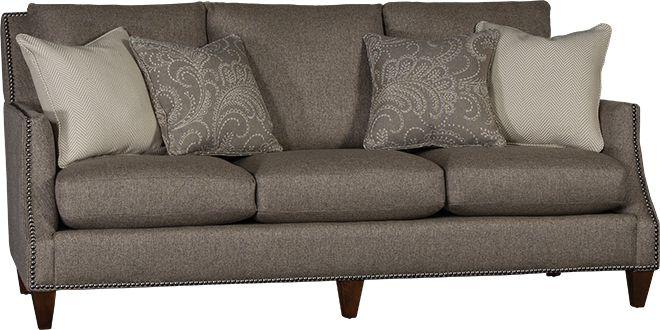 Mayo Furniture 4490F Fabric Sofa - Ranger Granite
