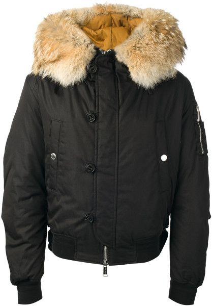 Dsquared2 Padded Jacket in Black for Men