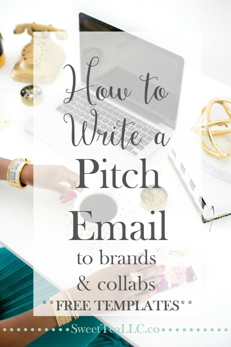 How to Write a Pitch Email | Pitch, Template and Learning