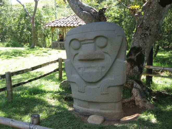 San Agustín Archaeological Park, Colombia #travel #statues #colombia