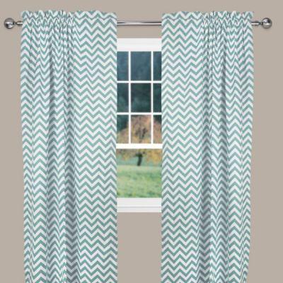 Reston Window Curtain Panel Chevron Curtains Curtains Panel Curtains