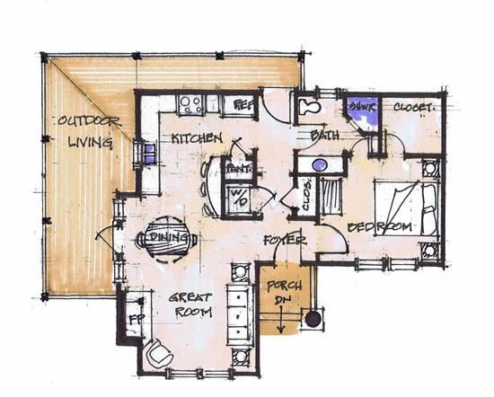 Chicken little main floor timber trails turnkey tiny for Structural insulated panels home plans