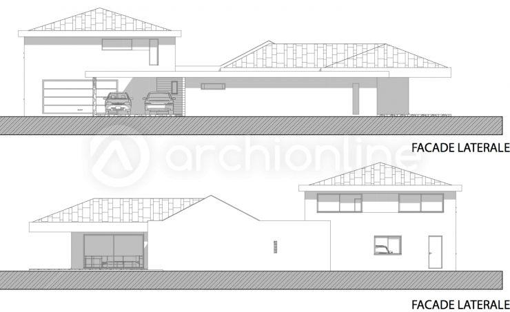 Maison Vanuatu  une maison Moderne conçue par l\u0027architecte A2DE