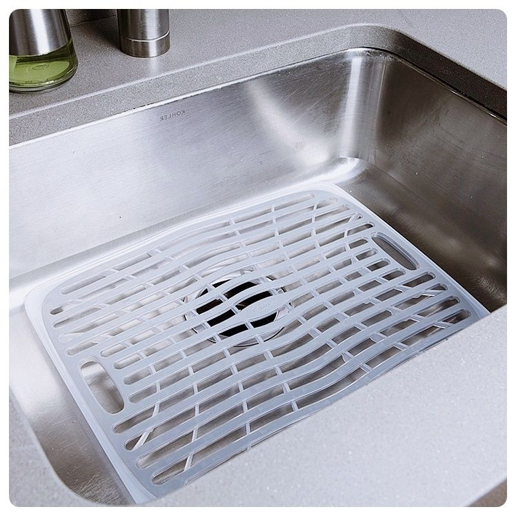 Kitchen Sink Mats With Drain Hole With Images Sink Mats
