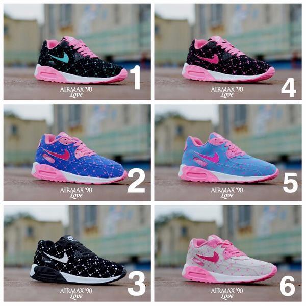 Sepatu Nike Airmax T90 Love Ready 6 Warna Best Tersedia Pilihan