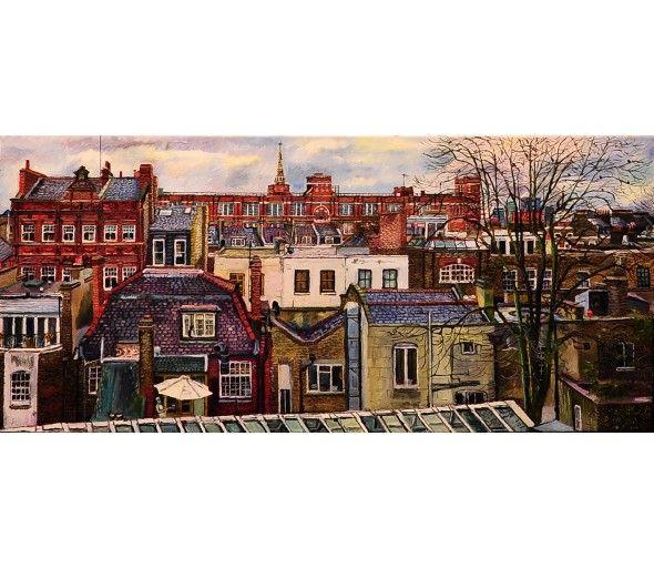 View Across Islington, London-Melissa Scott-Miller