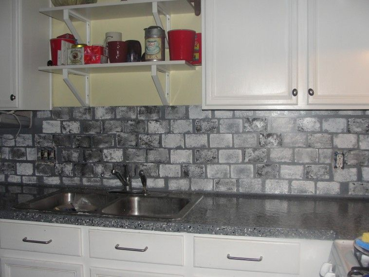 Best Interior Grey Tile Backsplash Connected By Dark Grey 640 x 480