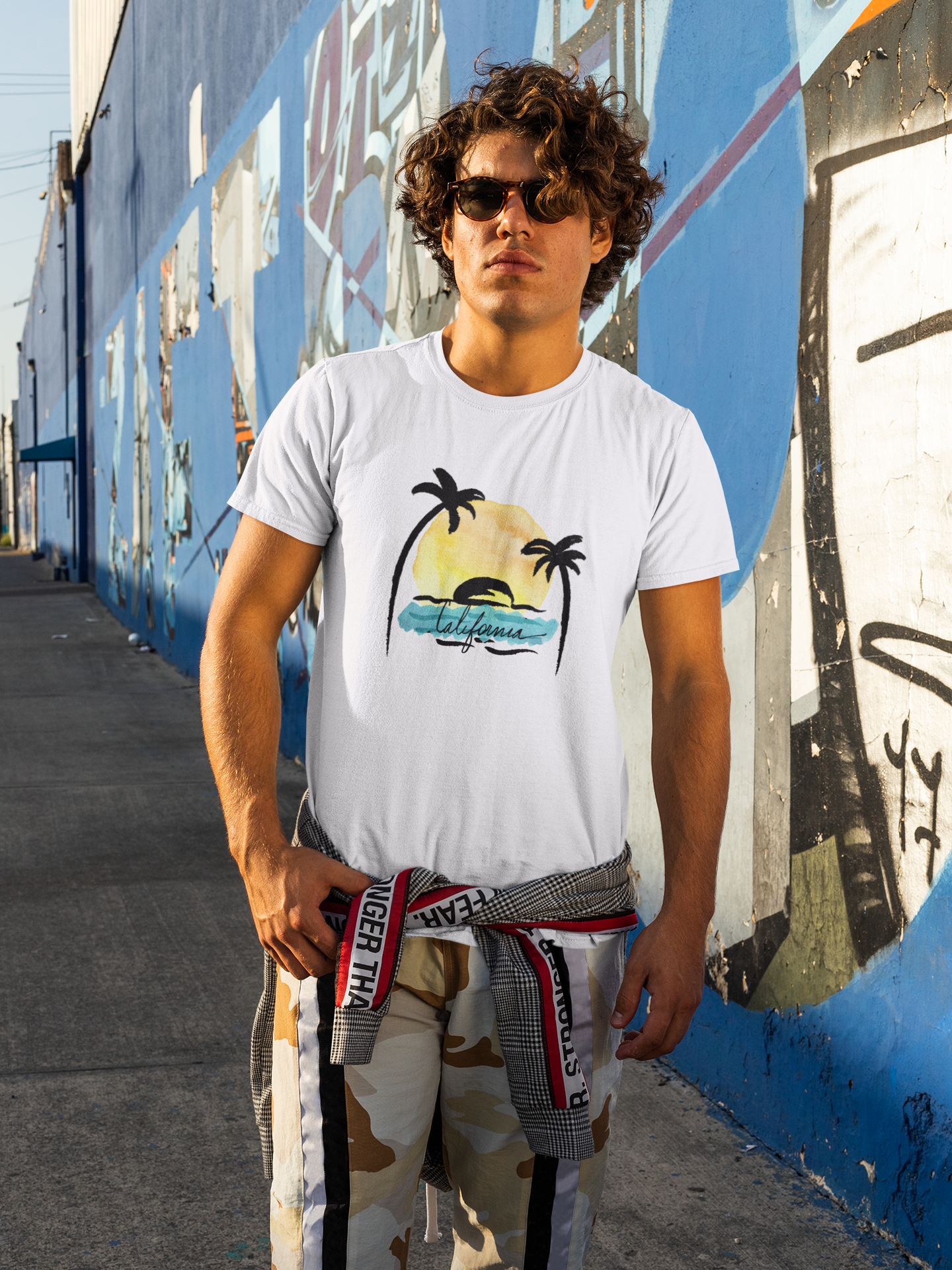 California Vibes in Summer Classic T-Shirt