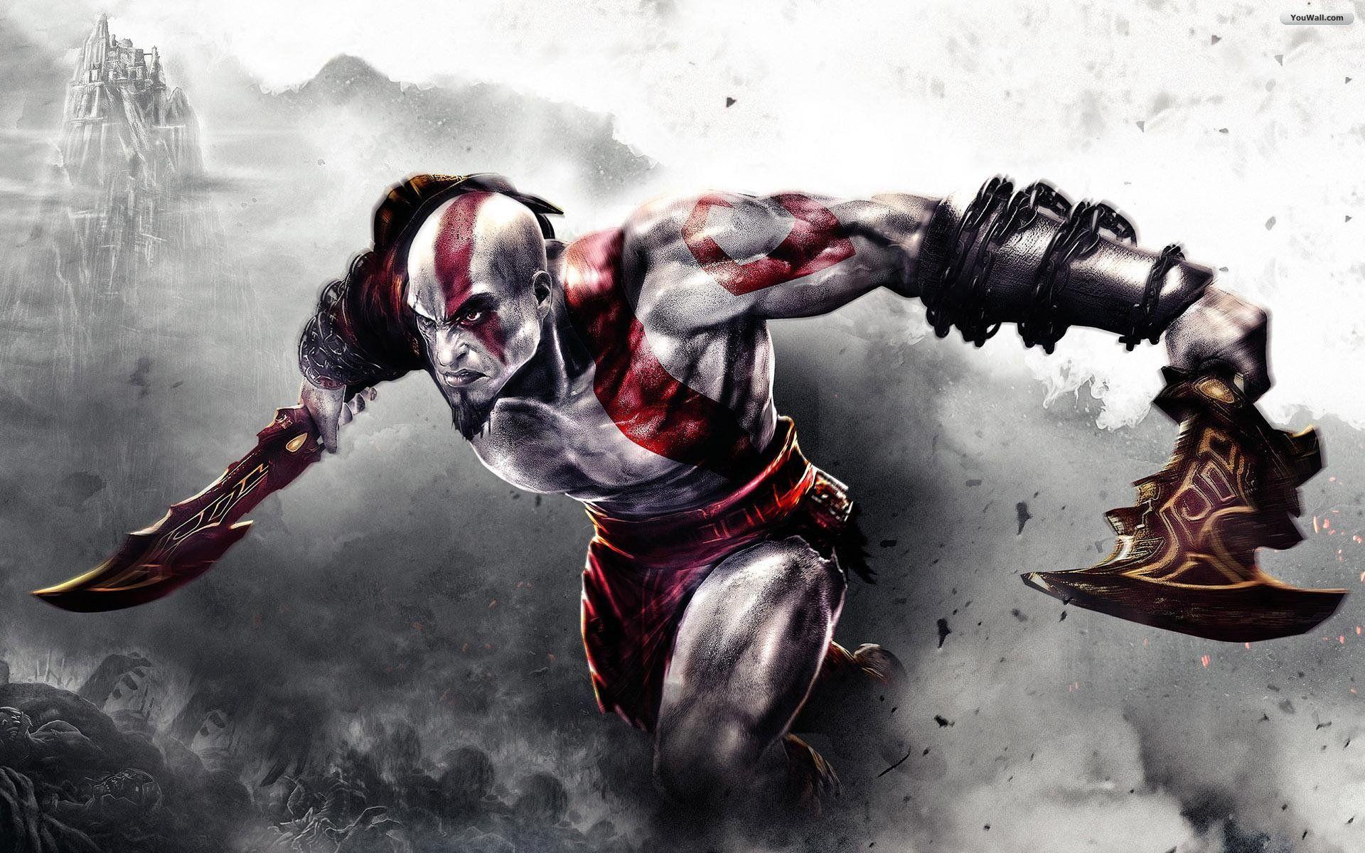 Pin De Sayarumi En Video Juegos Kratos God Of War