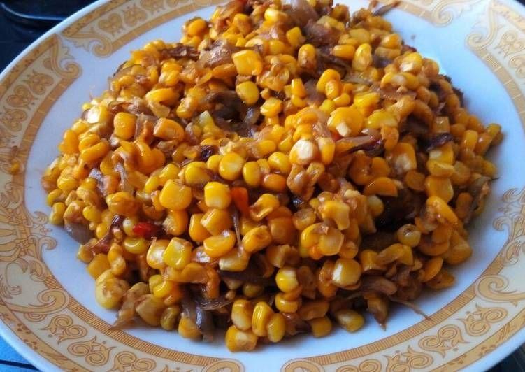 Resep Sambal Jagung Manis Oleh Niputusrihandayani Resep Resep Masakan Masakan Resep