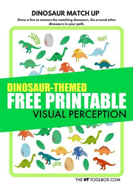 Facilitated Diffusion Worksheet Free Visual Perception Printable Dinosaur Theme  Perception  Goldilocks Worksheet Word with Pre Algebra Geometry Worksheets Word Worksheets Solving Equations And Inequalities Worksheets Word