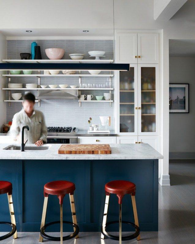 Minimalistkitchen Interior Design: Gorgeous White Minimalist Kitchen # Minimalistkitchen