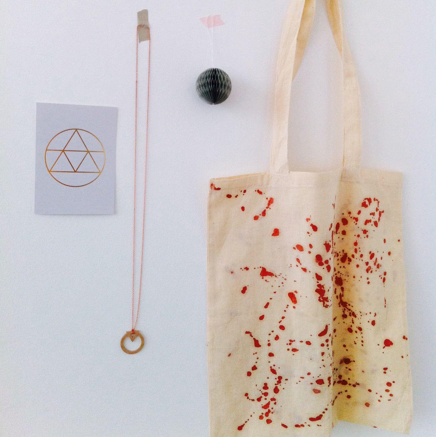 DIY bag / snug.postcard golden ratio / next necklace // snug-online.com