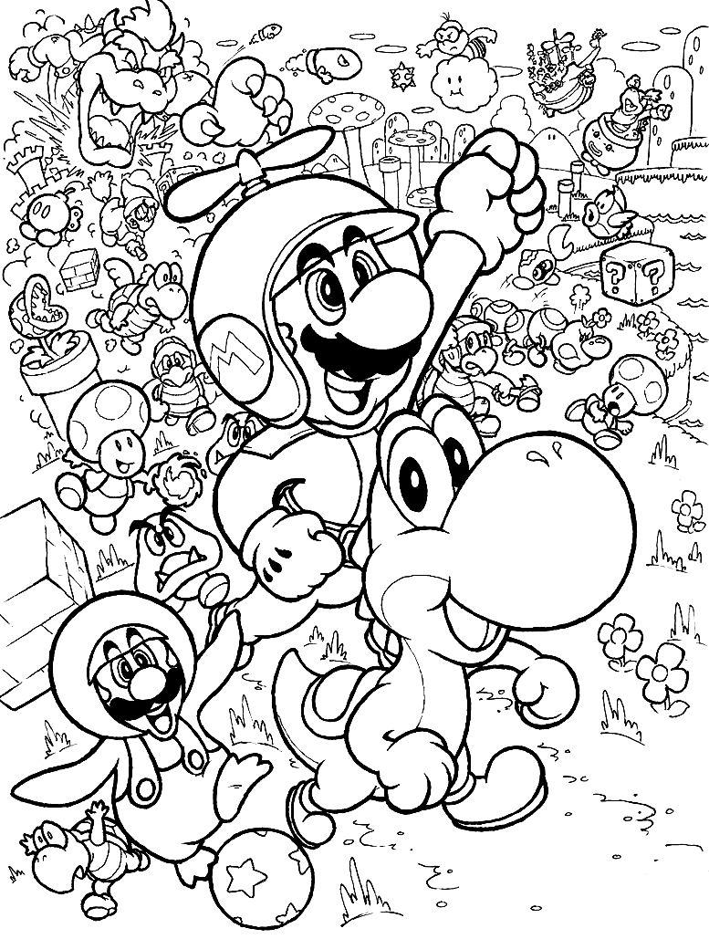 Ziemlich Super Mario Bros Malvorlagen Kröte Zeitgenössisch ...