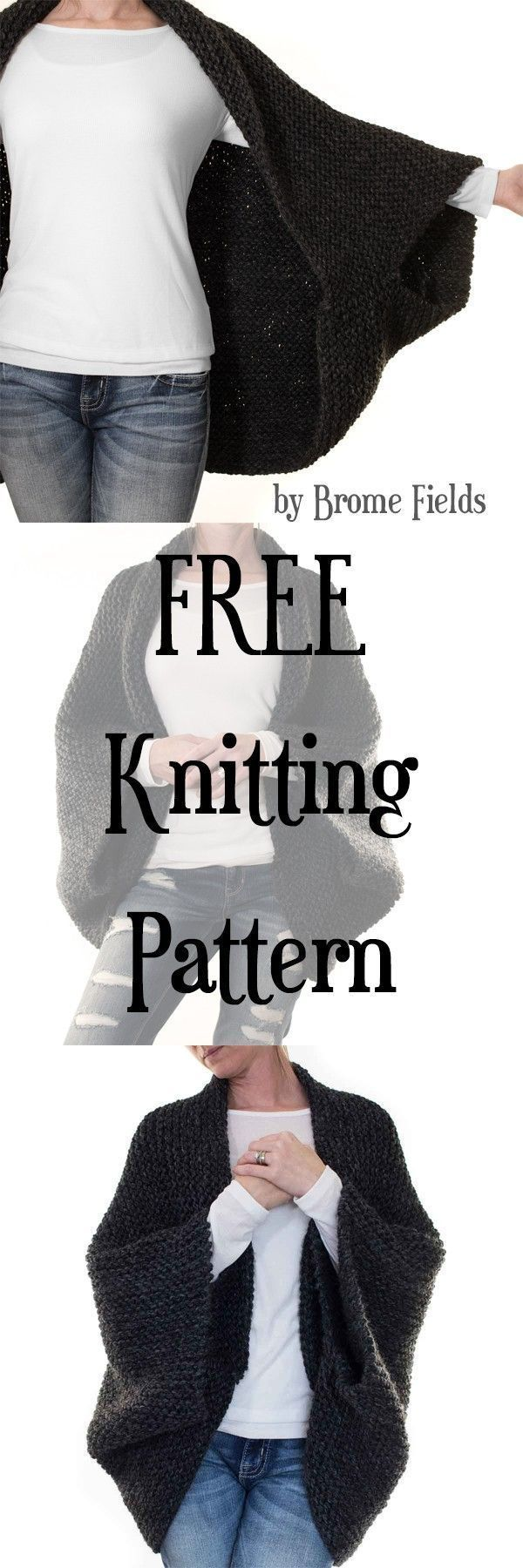 Photo of Grab the FREE MEDITATION : Cocoon Blanket Sweater Knitting Pattern. This is a gr…