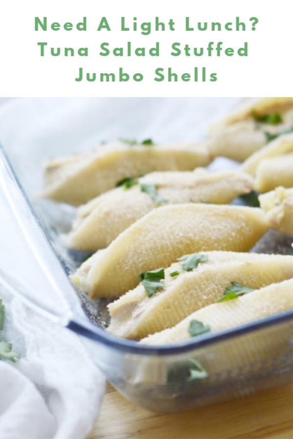 Tuna Salad Stuffed Jumbo Shells | Recipe | Whole food ...