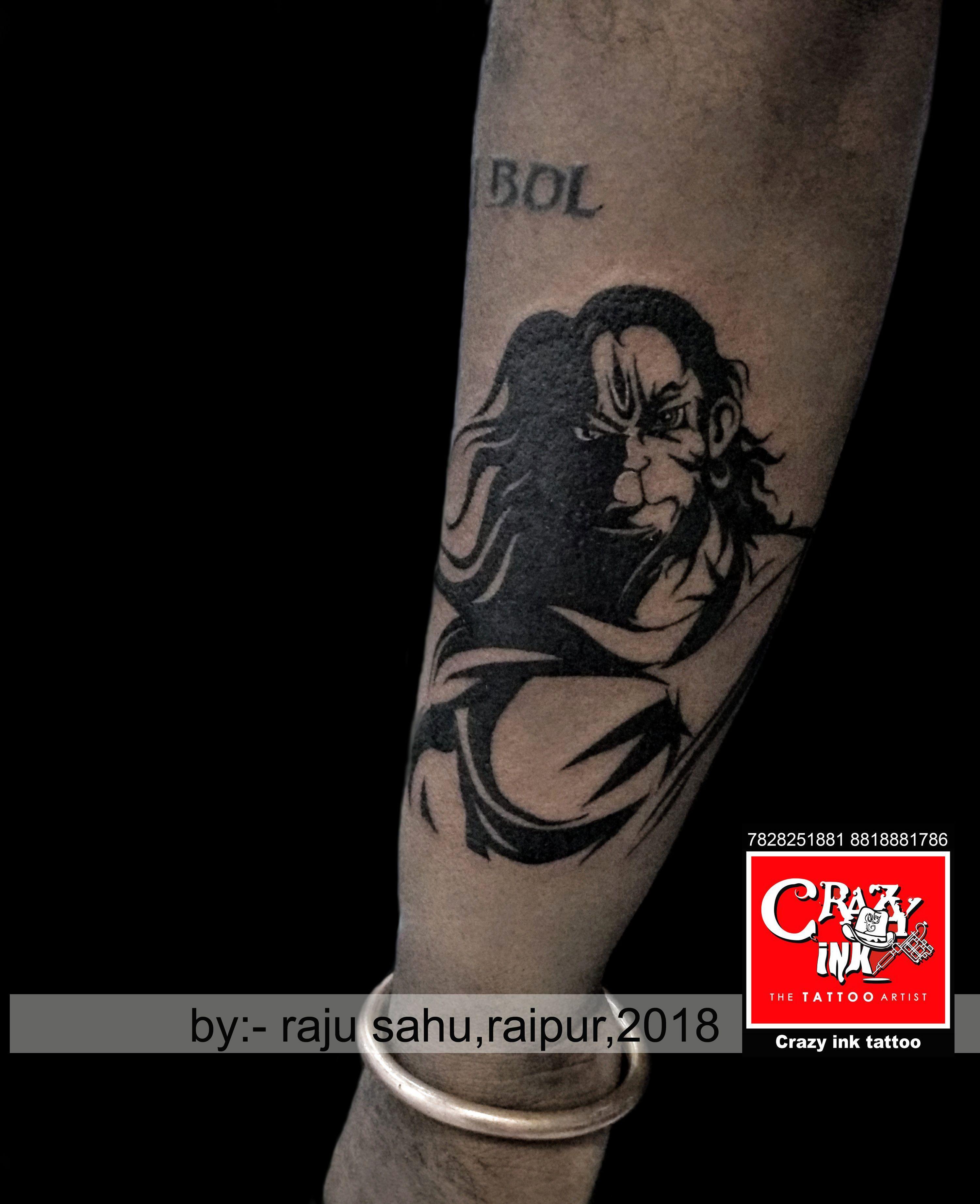 Lord Hanuman Tattoo Hanumantattoo Lord Hanuman Tattoo Raipurartist Crazyinktattoo Hanuman Tattoo Alien Tattoo Tattoos For Guys Hanuman tattoo hd wallpaper