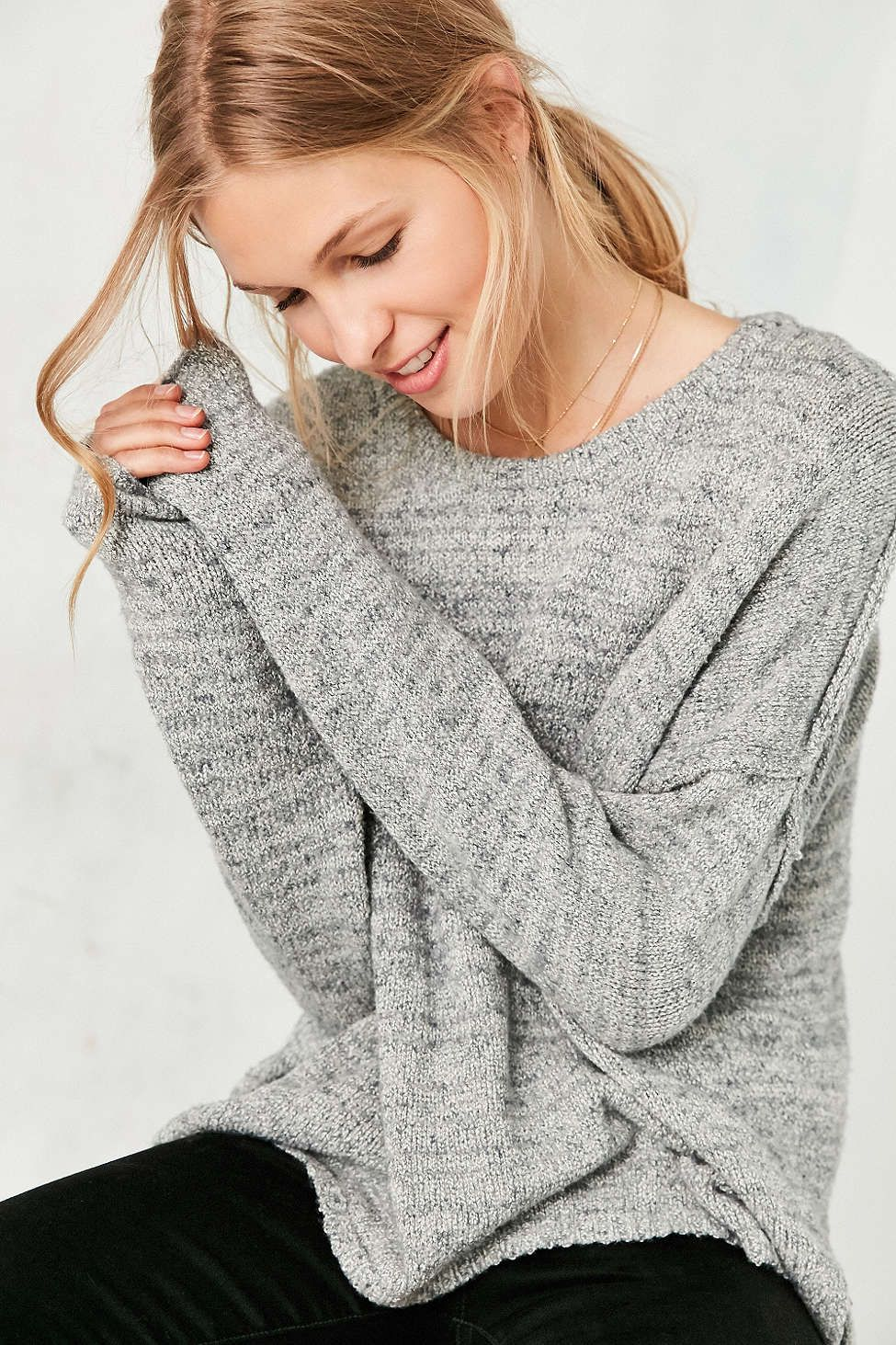 BDG Drop,Shoulder Pullover Sweater , Urban Outfitters