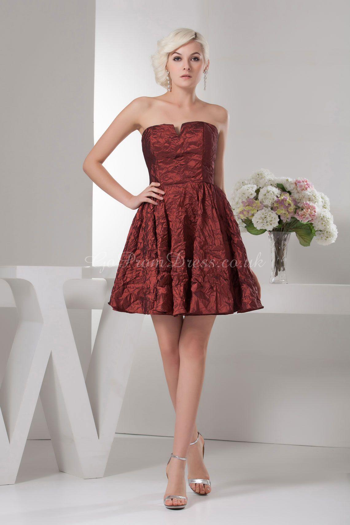 Red dress for wedding reception  Bridesmaid Dress  Lovely dream wedding  Pinterest  Weddings and