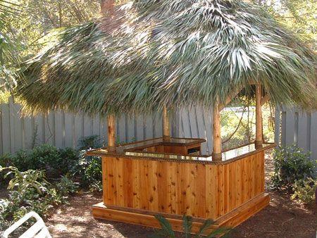 Do-It-Yourself Photo Gallery | Tiki bars backyard, Tiki ... on Backyard Tiki Bar For Sale id=59510