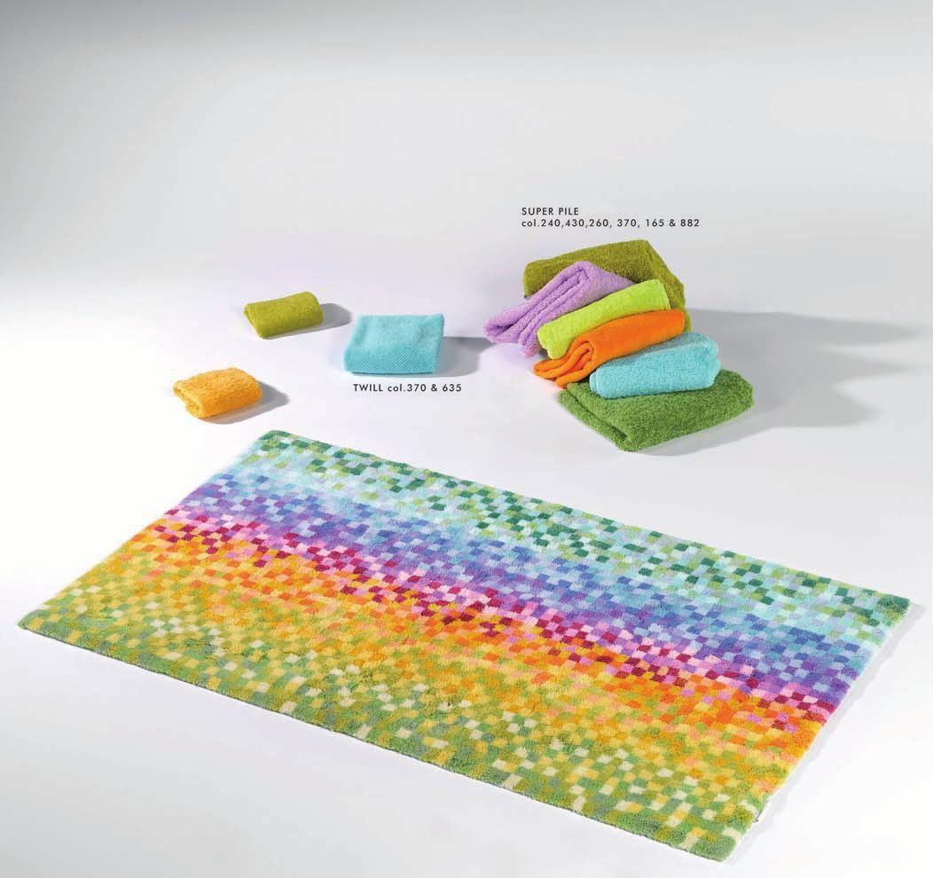 Abyss Habidecor Mosaic Multi Colored Bath Rug Www Codarus