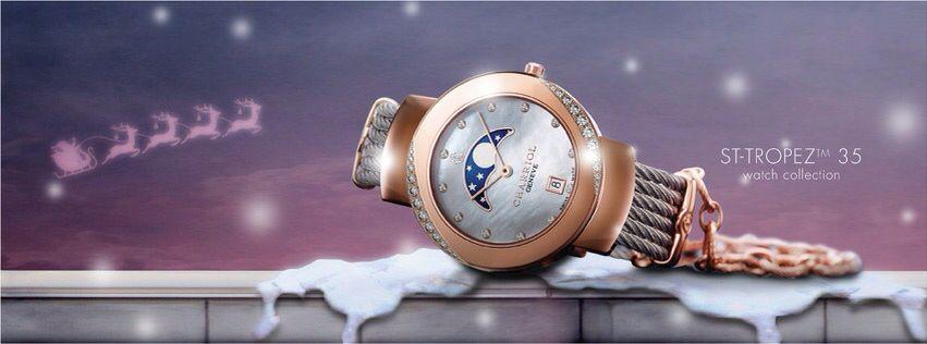 Charriol watch collection St-tropez 35mm  Un gioiello..