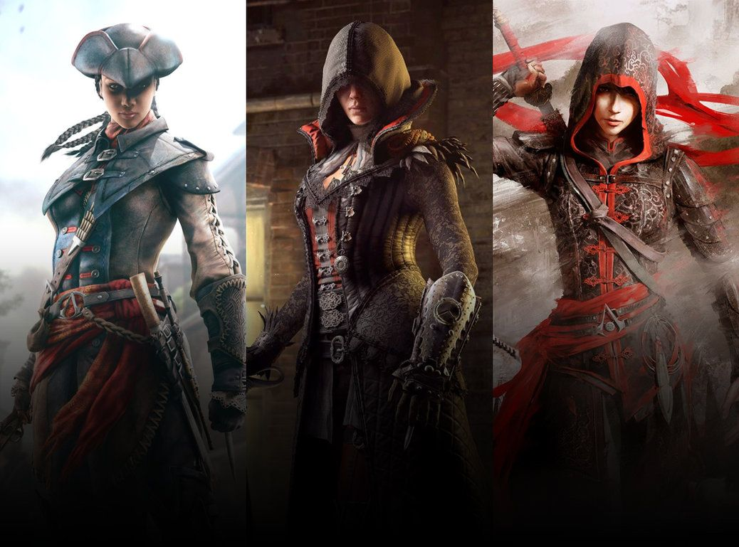 Assassin S Creed Female Characters Assassins Creed Female