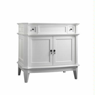 Ronbow Solerno 36 Vanity 068436 Bathroom Vanities Without Tops Ronbow 36 Inch Vanity