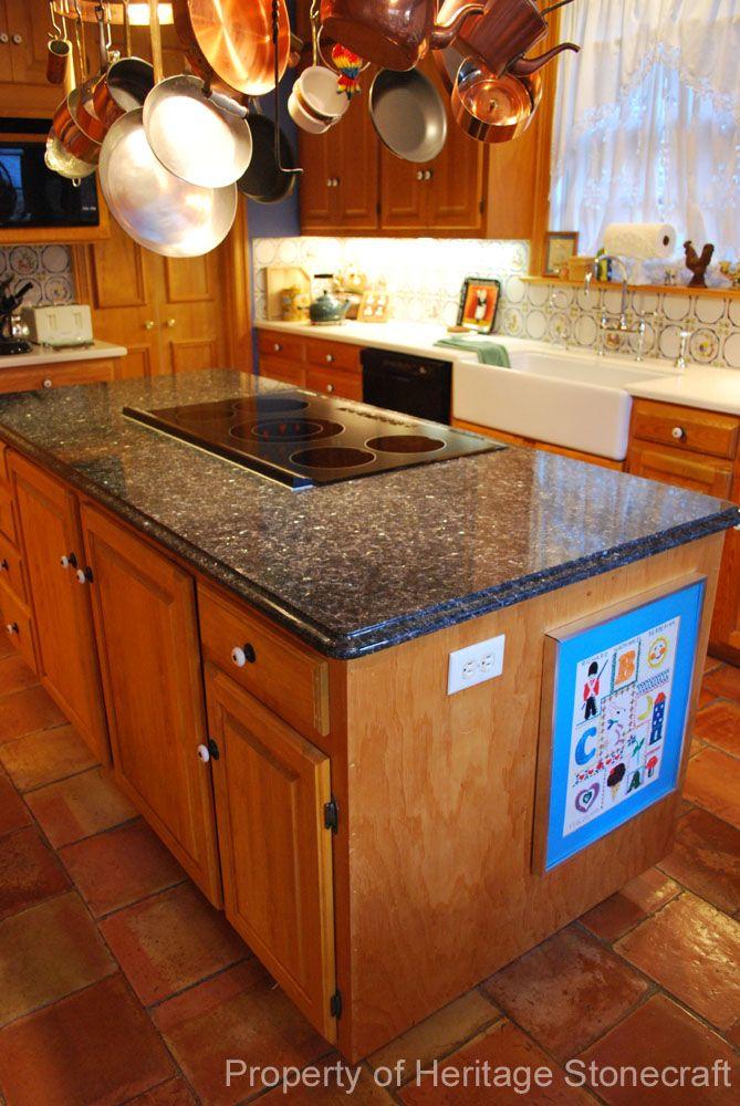 stone countertop pictures   Blue Pearl Granite Countertops (461), Blue Pearl, Charlotte, North ...