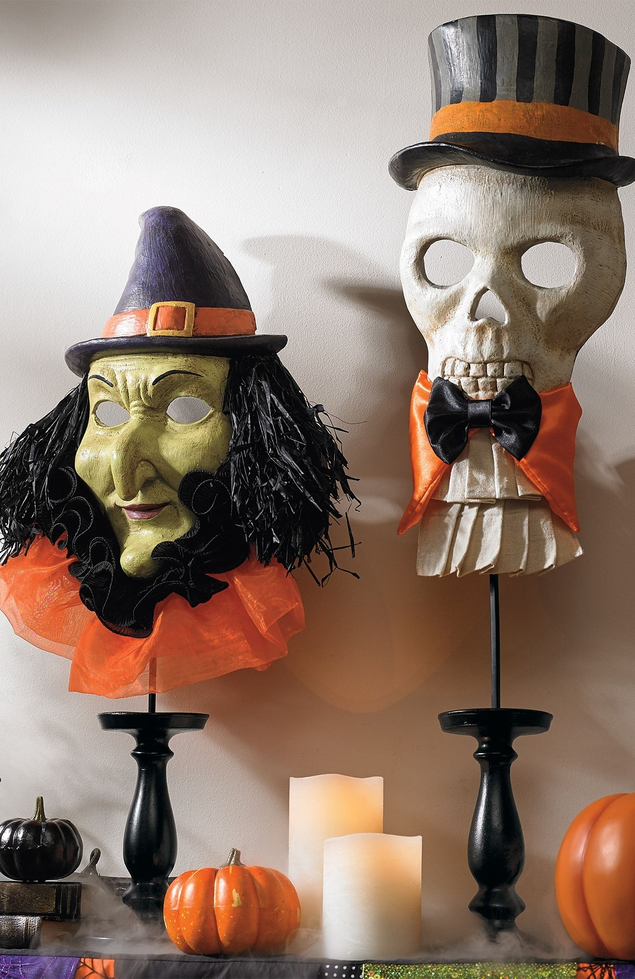 Relive the magic of Halloweens past with our vintage-inspired Witch - Witch Decorations For Halloween