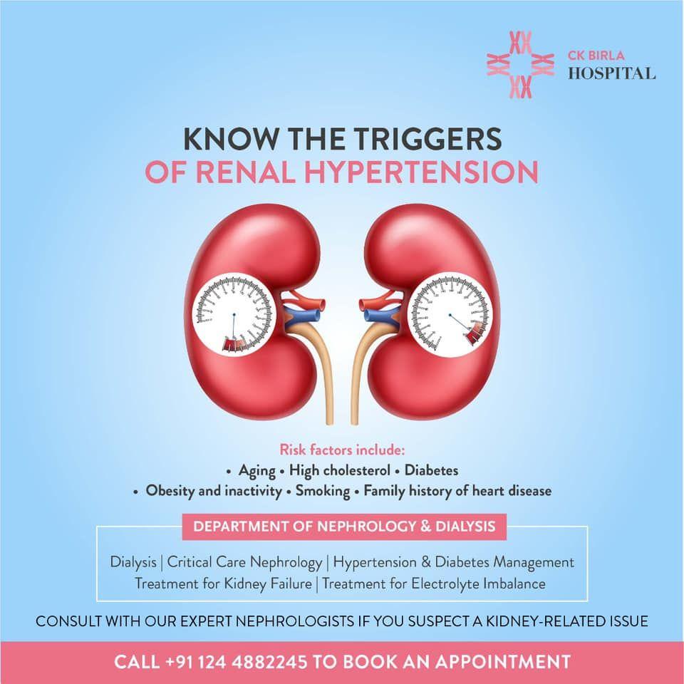 Triggers Of Renal Hypertenstion Kidney Failure Treatment Dialysis Diabetes Care