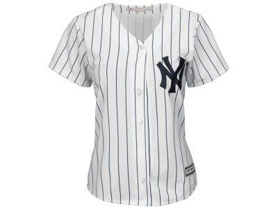 New York Yankees Mlb Women S Cool Base Jersey Mlb Apparel Clothes Mlb Women