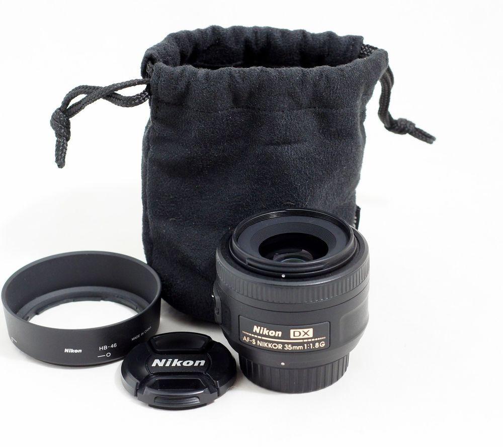 Nikon Af S Dx Nikkor 35mm F 1 8g Lens D60 D5100 D5200 D5300 D7000 D7100 D7200 Nikon D7200 Nikon D60 Nikon D5100