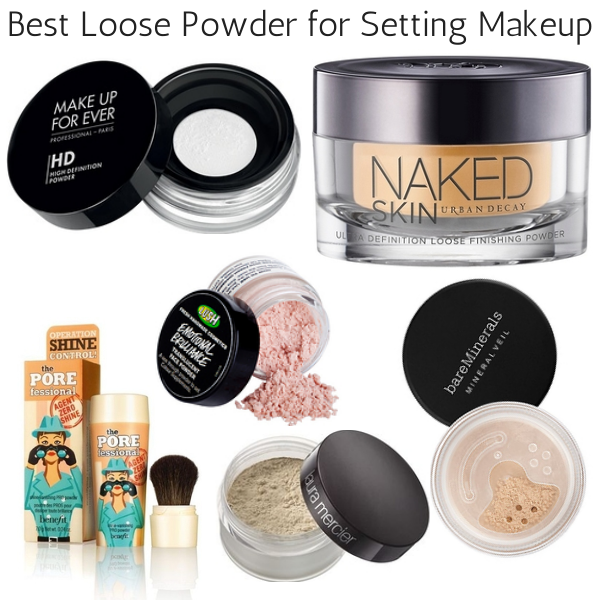 Best loose setting powder